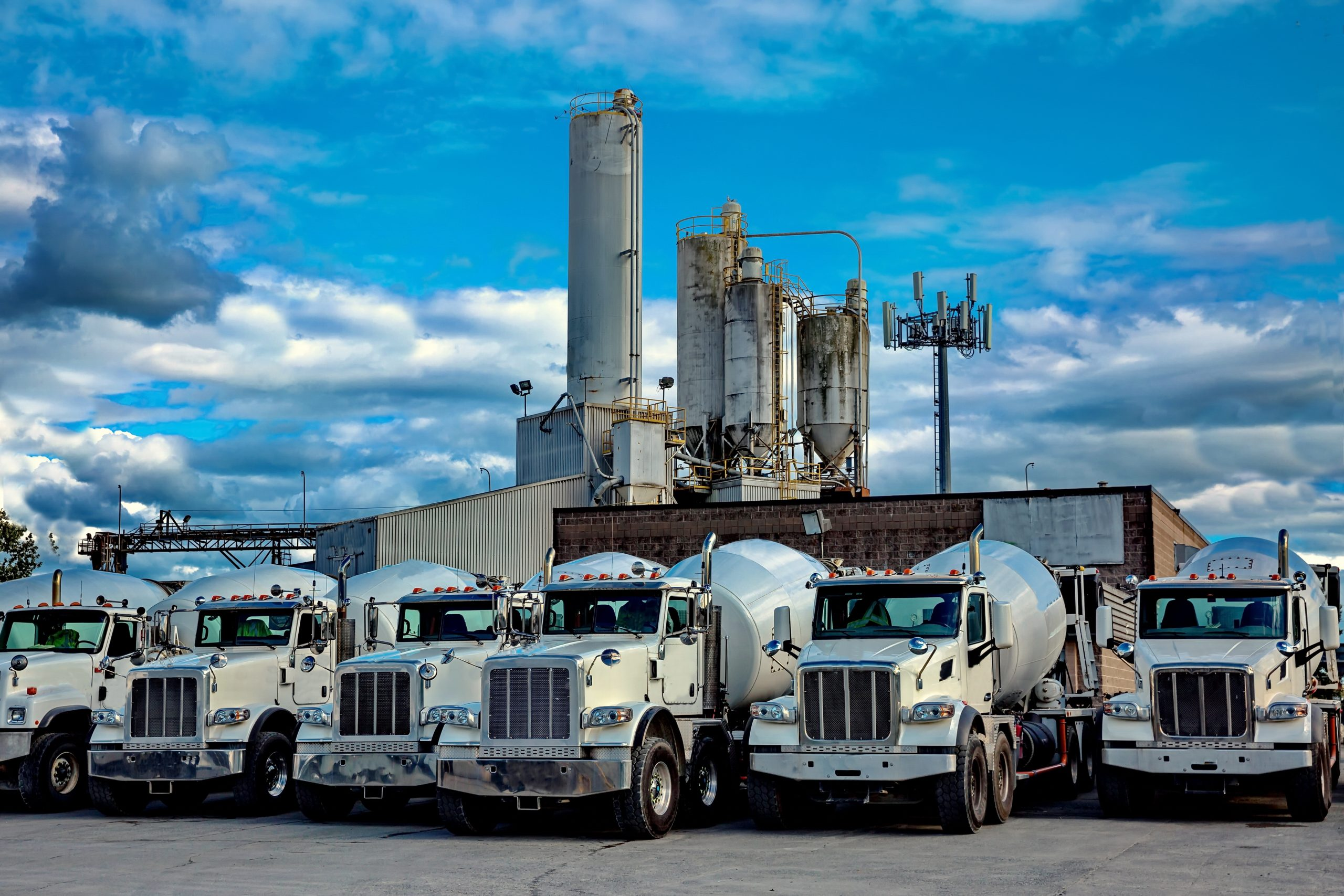 Industrial assets fleet