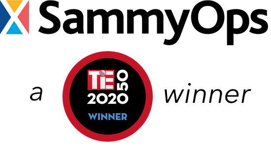 SammyOps Named TiE50 Award Winner